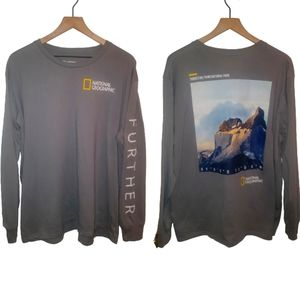 National Geographic Mens 2XL Tee Torres Del Paine